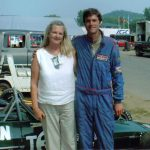 Pre race shot with my mother at Lime Rock