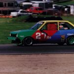 1980 Ford Fiesta ITC First race car