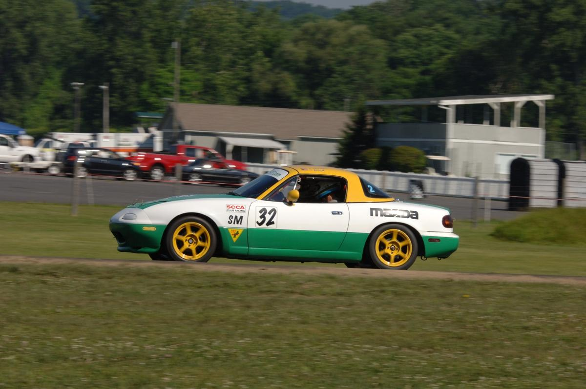 Spec Miata Track Event Rental Cars | SCDA