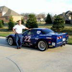 SCDA Instructor John Berger and his Z06 Corvette