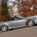 SCDA customer Ellen Emerson at Watkins Glen in her 2006 Honda S2000!
