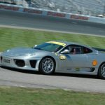 Suzy Hiniker at NHMS in Her Ferrari
