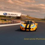 Mark Starr at Thunderbolt Raceway in his Lotus Elise, photo courtesy of James Levine