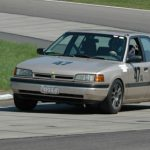 Clint Fralick's 94 Mazda Protege www.tracktimephotos.com