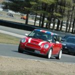 Bob Chieffo Mini Cooper S at Lime Rock Park www.tracktimephotos.com