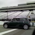 Mini Cooper S in Pit Lane at New Hampshire Motor Speedway