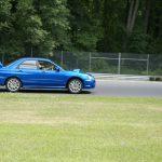 Robert Kissner at Lime Rock Park in his Subaru WRX STi